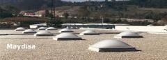Clarabóias e cúpulas Maydisa