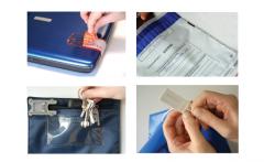 Sacos e selos de seguranca
