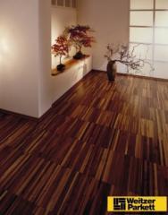 Pavimentos flutuantes madeira
