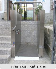 Plataforma vertical modelo Hiro 450