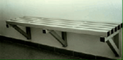 Banco PVC parede