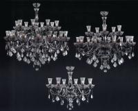 Lustres de cristal em estilo clássico