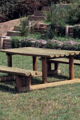 Mobiliário urbano e jardim