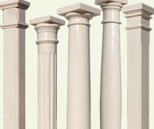 Colunas em betao