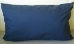 Almofada 57x35cm tela azul escuro