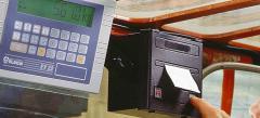 Máquina de pesagem electrónica PTE-V