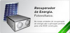 Recuperador de energia - fotovoltaico