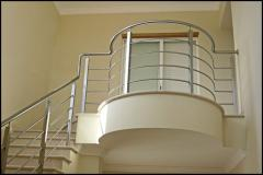 Enclosures for balconies and stairs