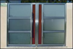 Portões em Inox