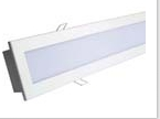 Luminária LED 670x100mm, SMD5050, 230V
