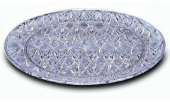 Prato redondo cristal