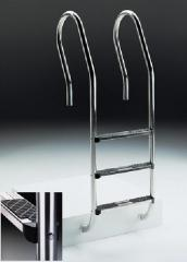 Escada modelo misto