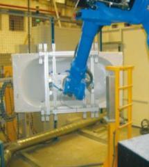 Célula de robotizado de banheiras