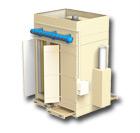 Sistema automático de filtração por mangas tipo SFM T3