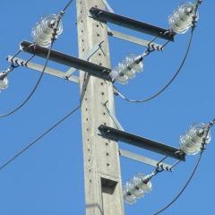 Travessa para distribuição energia eléctrica