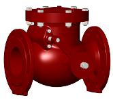 Válvula de retenção para aguas residuais/saneamento