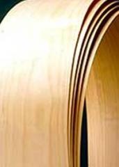 Folha de madeira natural