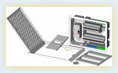 Quadros de distribuicao e caixas ICT