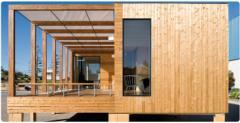 Casas modulares em madeira Treehouse