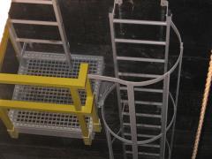 Escadas verticais