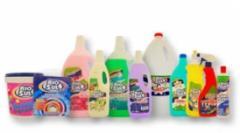 Detergentes, amaciadores e lixívias
