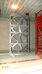 Ventiladores axiais e centrifugos