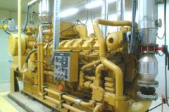 Central de cogeração com motor a gás