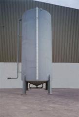 Cisterna primária com bombeamento