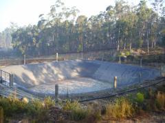 Impermeabilização de lagoas