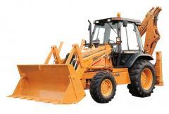 Maquinas de escavacao e movimentacao de terras