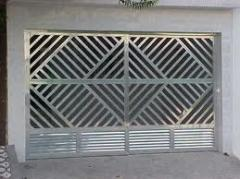 Portoes de aluminio