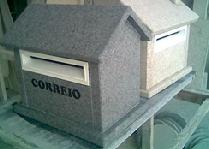 Caixas de correio em granito