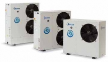 Condensacao ar-ventilador helicoidas Tcaey 105÷111