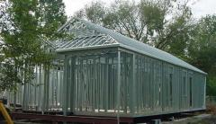 Light steel thin-walled constructions