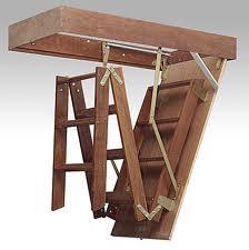 Escadas para sotao