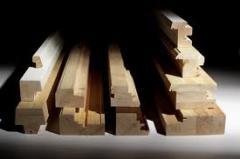 Perfis de madeira