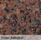 Granito Rosso Balmoral