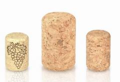 Bottle corks, agglomerated cork