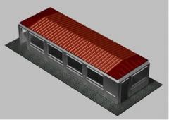 Casas pré-fabricadas modulares