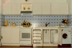 Mobiliário de interior em polyester