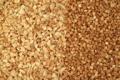 Amendoim sem pele torrado triturado