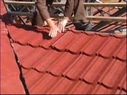 Encomenda Montagem telhados