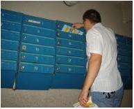 Encomenda Mailing (distribuição em caixas de correio).