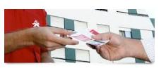 Encomenda Handing ( Mão própria) - A distribuição em mão própria em locais de grande movimento