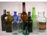Reciclagem em garrafas de vidro