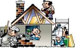Remodelações - Restauro  Apartamentos:  salas,  quartos, cozinhas, casas de  banho/wc.