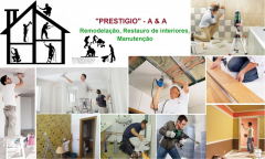OBRAS: Alterações,Restauro,Remodelação em Geral - Serviços