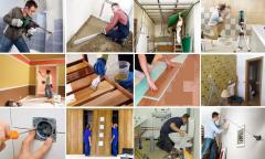 Remodelações: pedreiro, ladrilhador, canalizador, pintor, carpinteiro, pladur,.