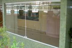 Colocacao vidros