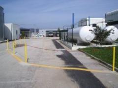 Projectos e licenciamentos de armazenagens e redes de gás